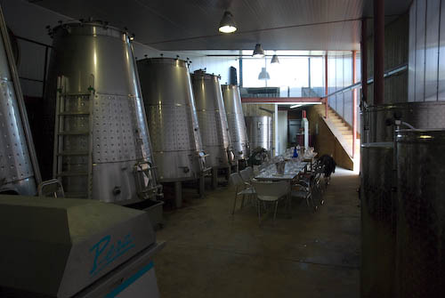 Im Keller von Portal de Priorat